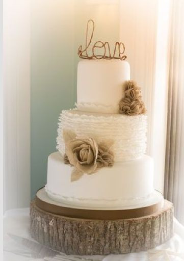 Rustic Chic Wedding Cakes  20 Gorgeous Country Rustic Wedding Ideas