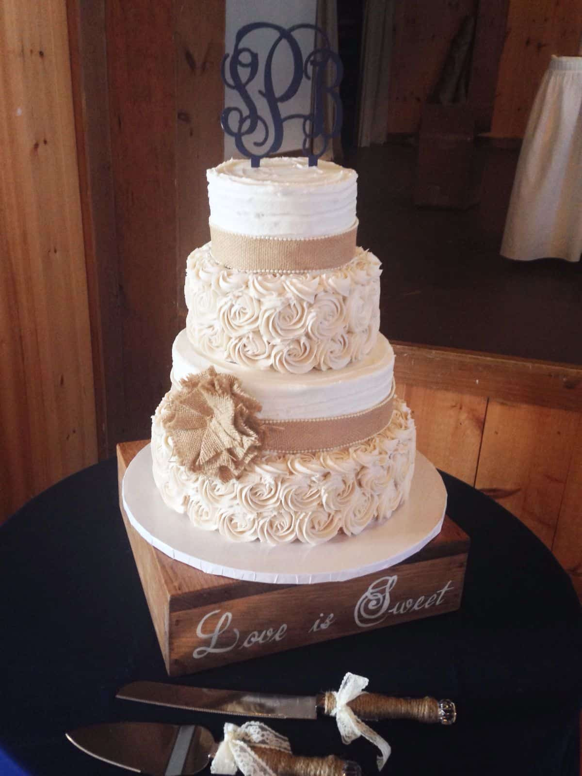 Rustic Style Wedding Cakes  country wedding cakes best photos Cute Wedding Ideas