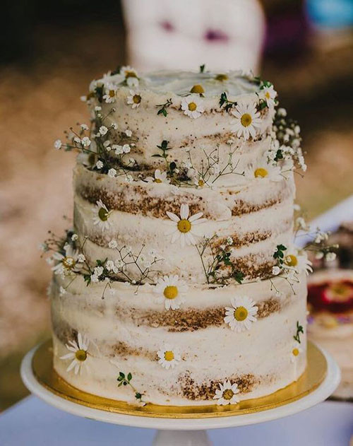 Rustic Style Wedding Cakes  15 Rustic Wedding Cakes That Will Make You Want a Barn Wedding