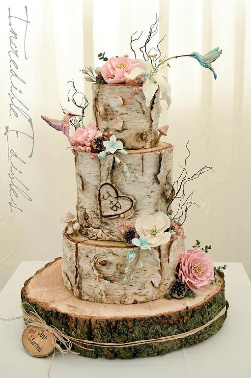 Rustic Style Wedding Cakes  20 Rustic Country Wedding Cakes for The Perfect Fall Wedding