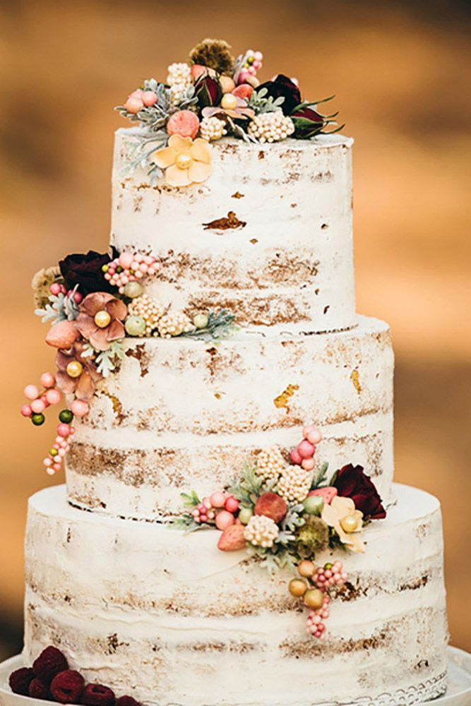 Rustic Style Wedding Cakes  25 best ideas about Rustic wedding cakes on Pinterest