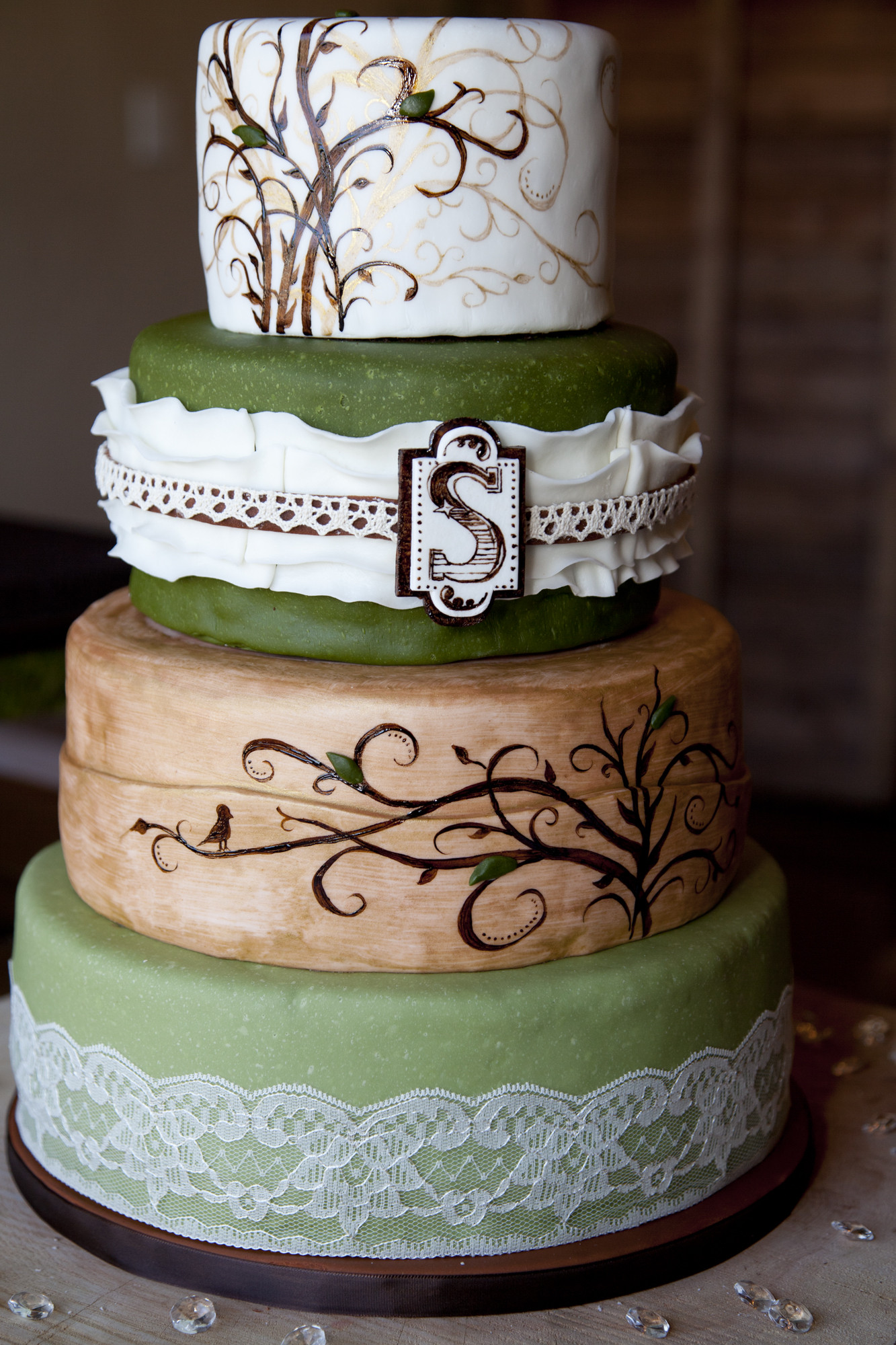 Rustic Style Wedding Cakes  Simple Rustic Wedding Cake — CRIOLLA Brithday & Wedding