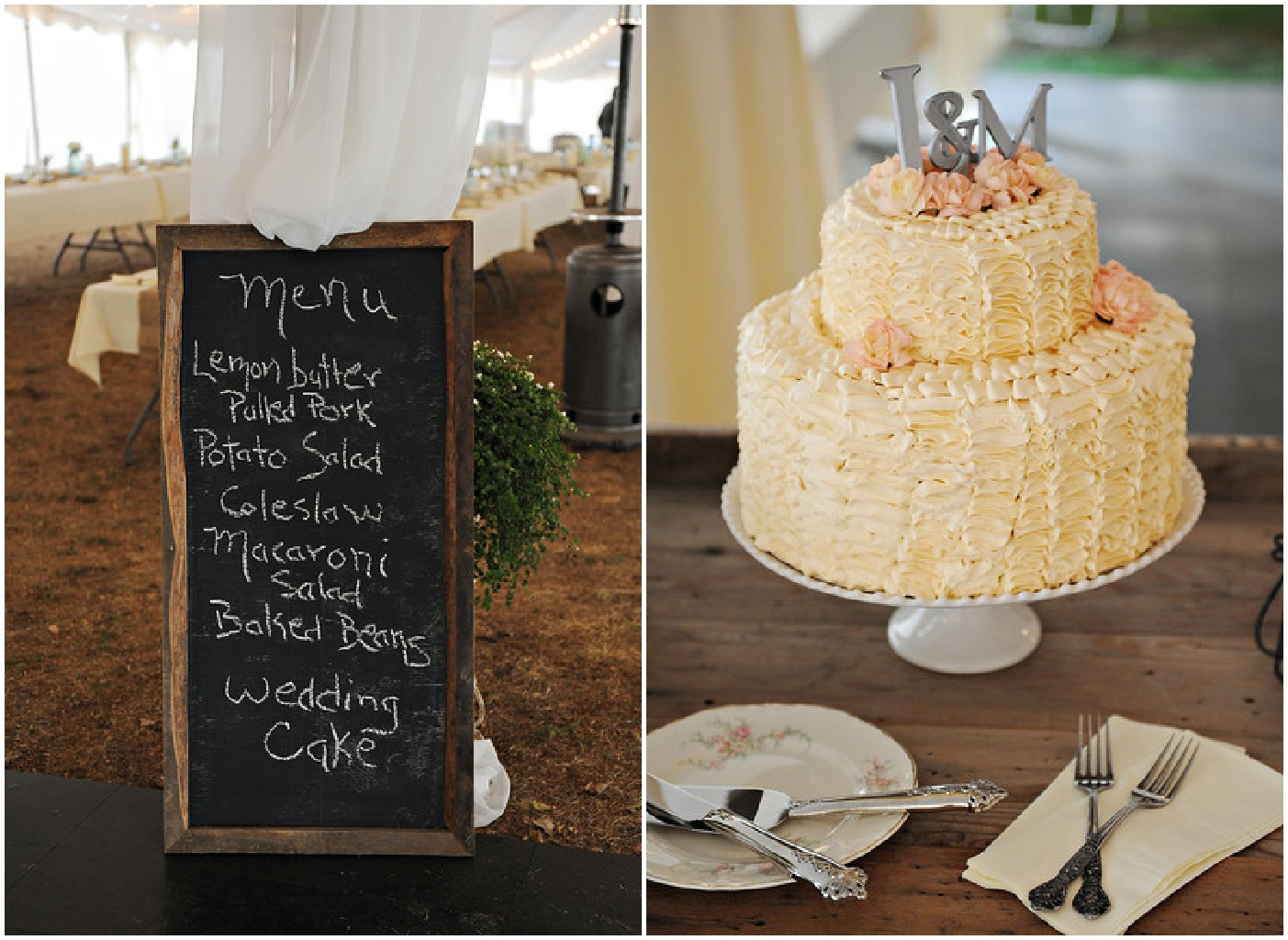 Rustic Style Wedding Cakes  Retro Vintage Style Wedding Rustic Wedding Chic