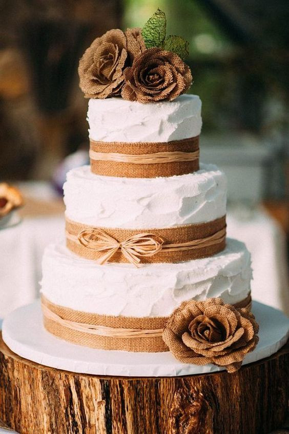 Rustic Themed Wedding Cakes  22 Rustic Tree Stumps Wedding Cakes for Your Country Wedding