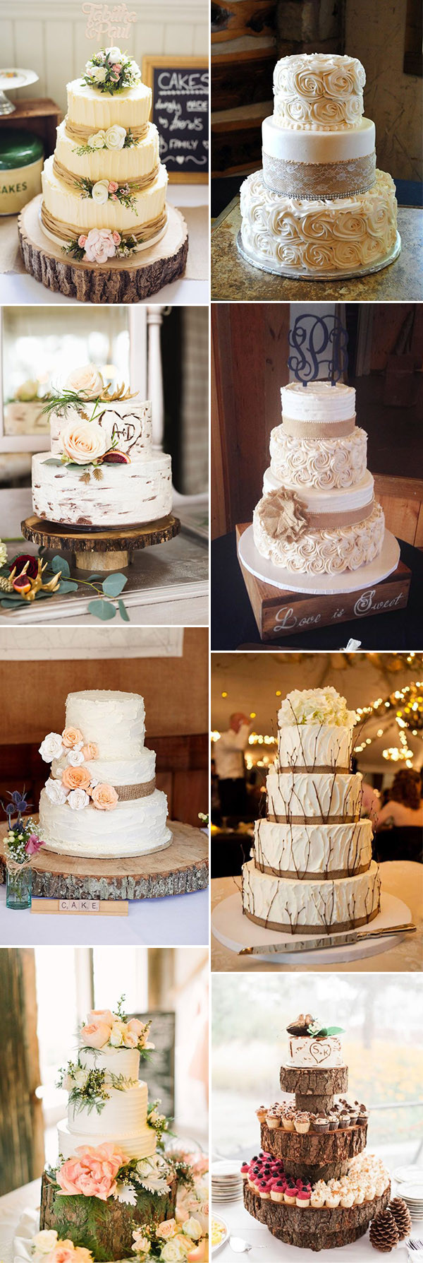 Rustic Wedding Cakes Ideas  50 Steal Worthy Wedding Cake Ideas For Your Special Day