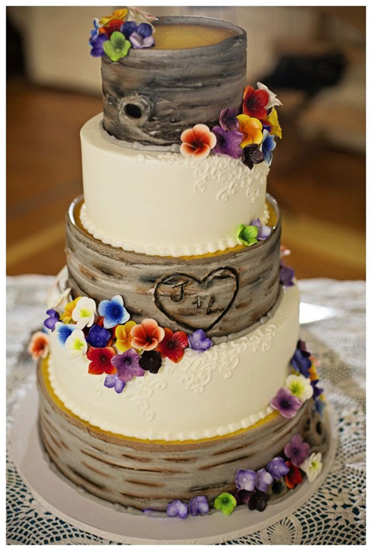 Rustic Wedding Cakes Ideas  Great Winter Wedding Cake Ideas For You and Your Partner