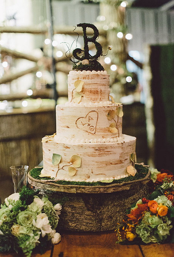 Rustic Wedding Cakes Ideas  20 Rustic Country Wedding Cakes for The Perfect Fall Wedding