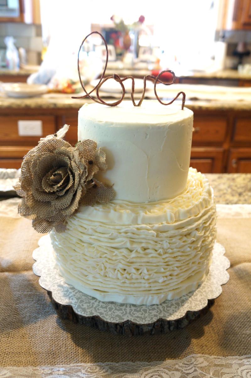 Rustic Wedding Shower Cakes  Custom Orders