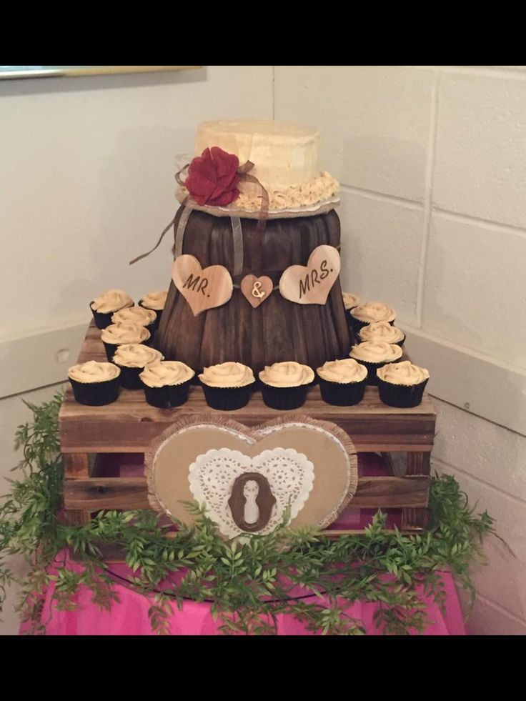 Rustic Wedding Shower Cakes  17 Best images about My Cake Creations on Pinterest
