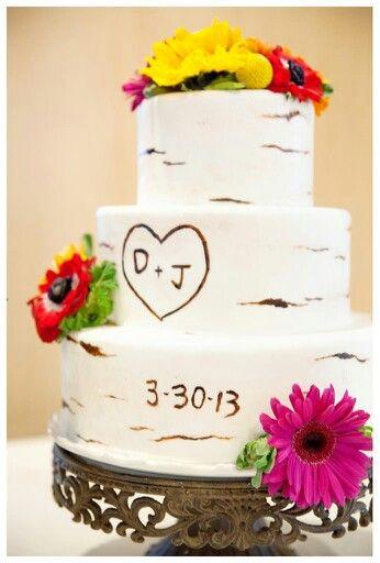 Rustic Wedding Shower Cakes  Ideas The o jays and Wedding on Pinterest