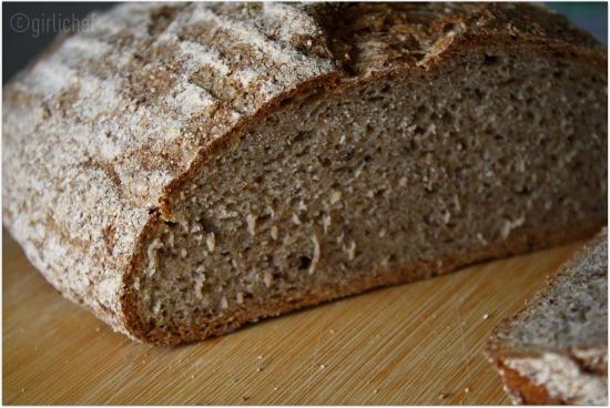Rye Bread Healthy  No Knead Whole Grain Rye Bread All Roads Lead to the Kitchen