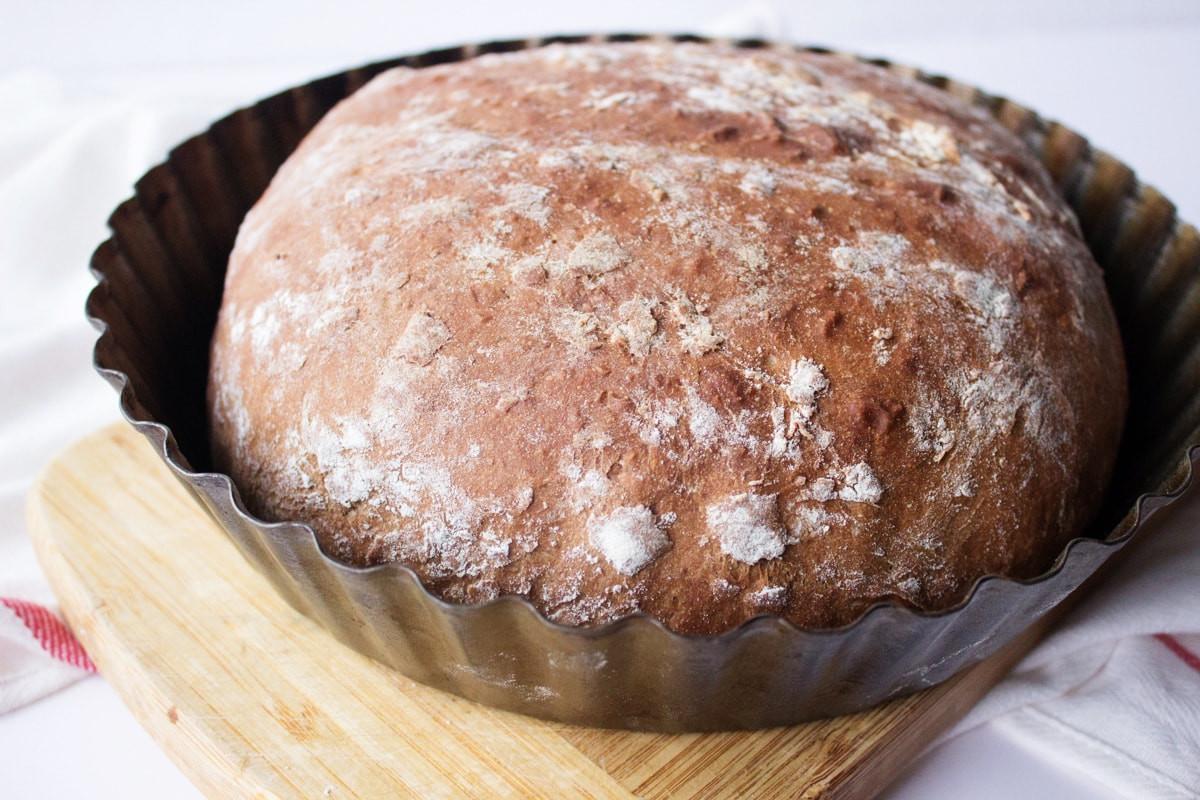 Rye Bread Healthy  Homemade Dark Rye Bread with Cocoa Natalie s Happy Health