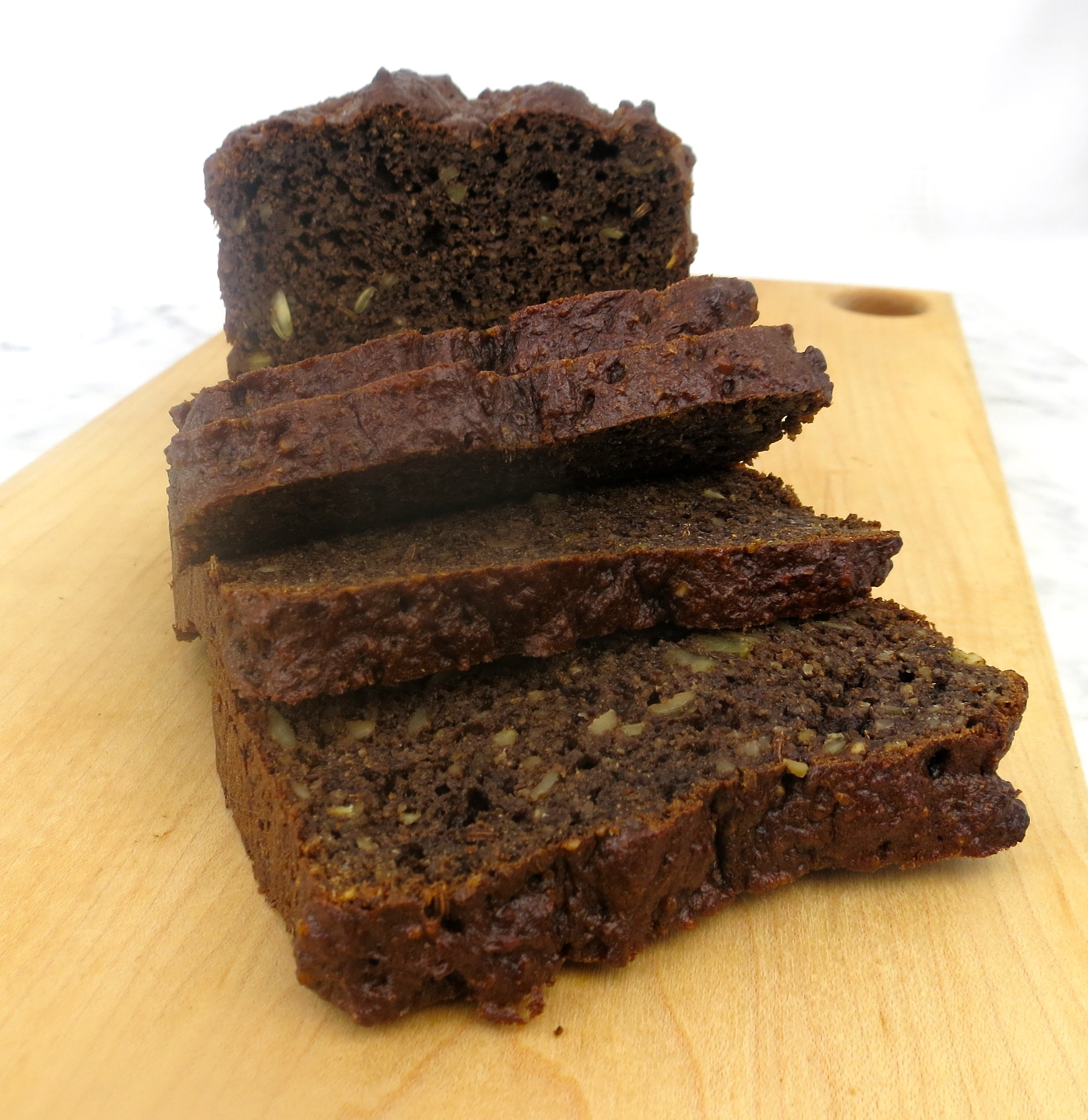 Rye Bread Healthy  Paleo Pumpernickel No Rye Bread – Jane s Healthy Kitchen
