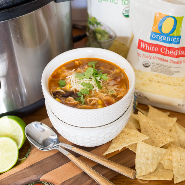 Safeway Easter Dinner  Instant Pot Chicken Tortilla Soup