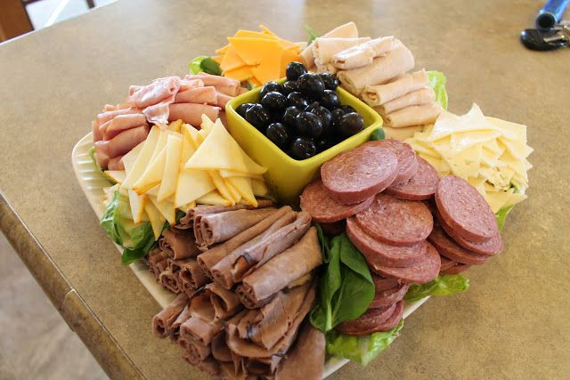 Safeway Easter Dinner  LC Valley Mom Homemade Meat & Cheese Tray this is a