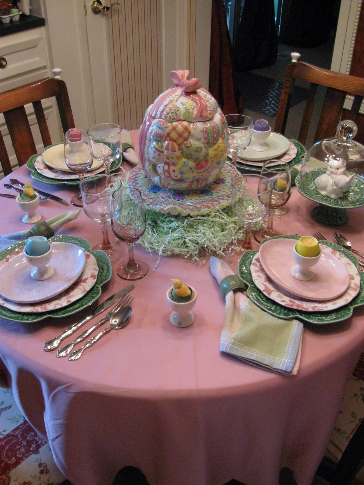 Safeway Easter Dinner  ROYAL TOUCH Tablescape Thursday more Easter Egg
