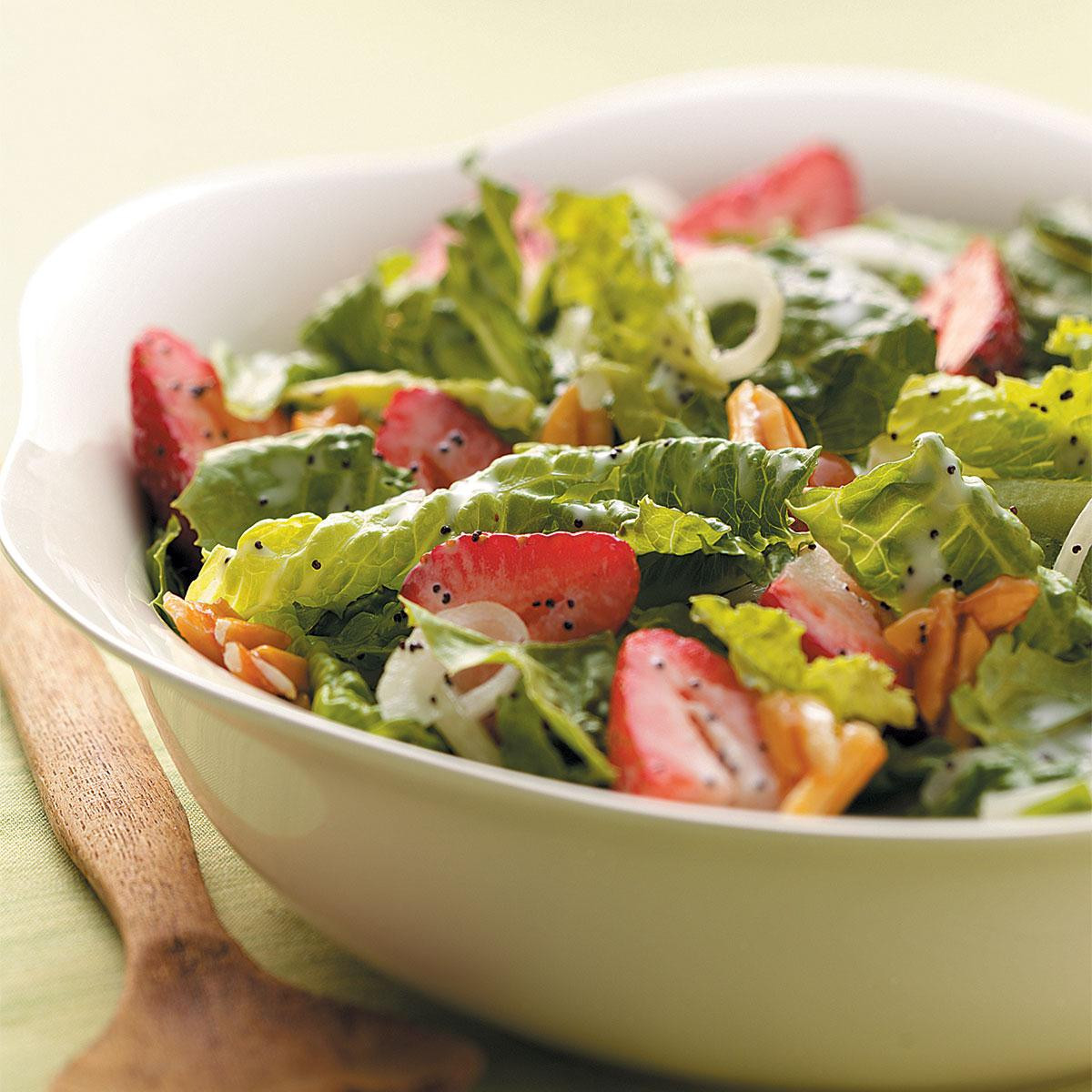 Salads For Easter  Strawberry Salad with Poppy Seed Dressing Recipe