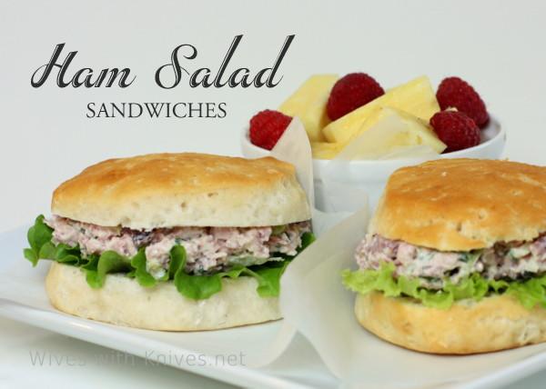 Salads For Easter Ham Dinner  Old Fashioned Ham Salad