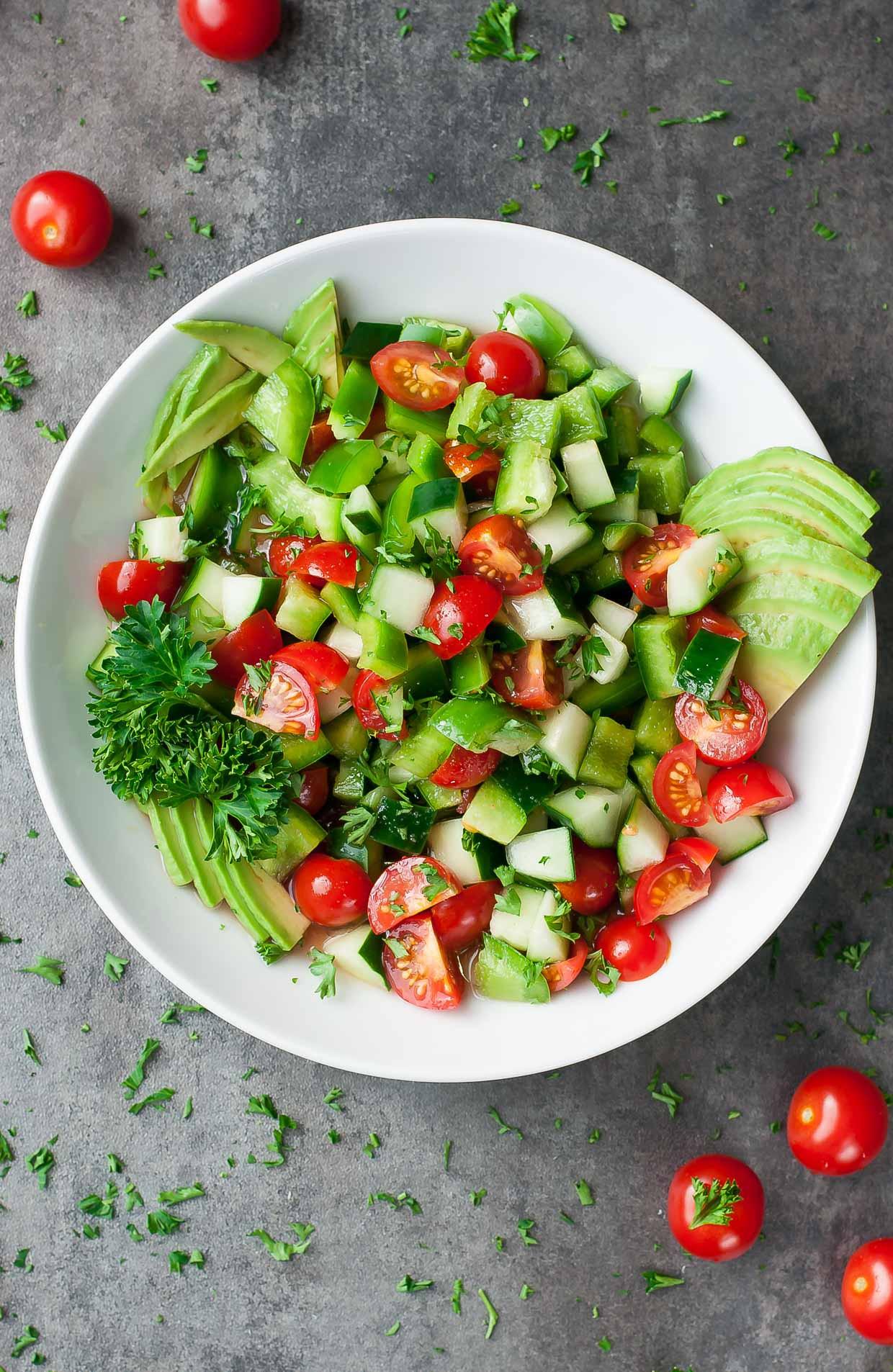 Salads Recipes Healthy  20 Easy Healthy Salad Recipes Peas and Crayons Blog