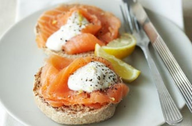Salmon For Breakfast Healthy  Slimming World s muffins with smoked salmon recipe