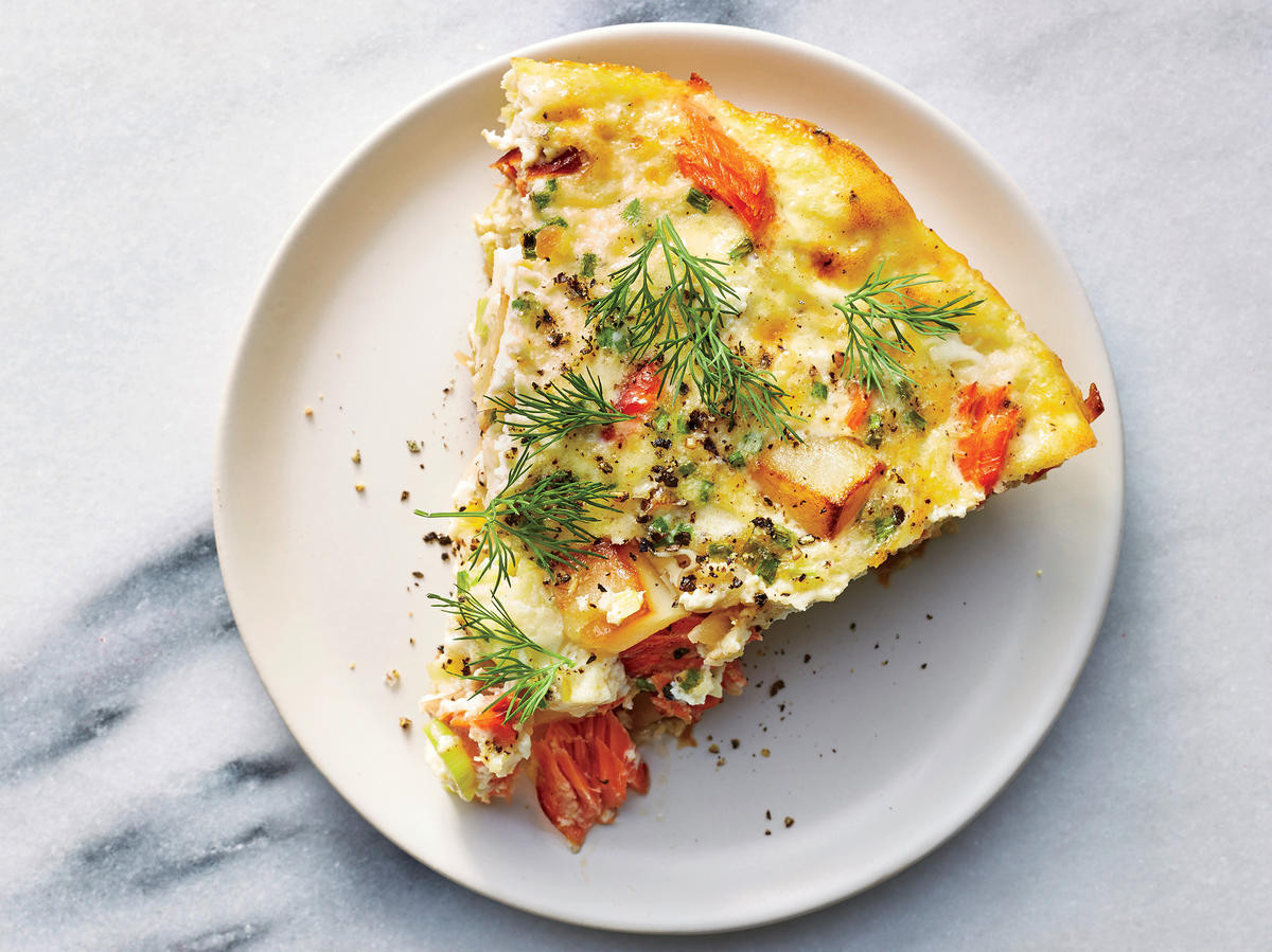 Salmon For Breakfast Healthy  3 Tricks That Keep This Hearty Morning Breakfast Low on