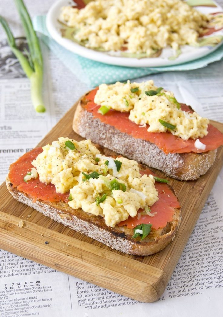 Salmon For Breakfast Healthy  76 best The 1 200 1 500 calorie HEALTHY plan images on