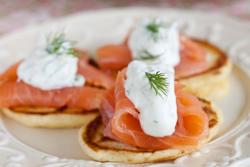 Salmon For Breakfast Healthy  Healthy Breakfast Recipe Crepes Parmentieres with Salmon