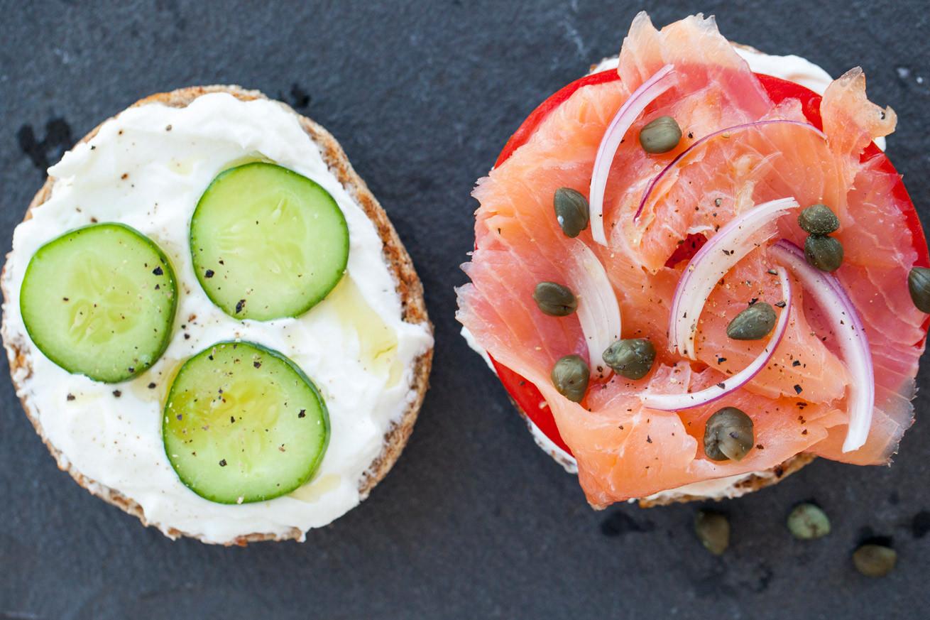 Salmon For Breakfast Healthy  Smoked Salmon Bagel Healthy with NediHealthy with Nedi