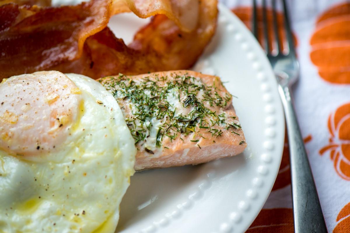 Salmon For Breakfast Healthy  Salmon for Breakfast