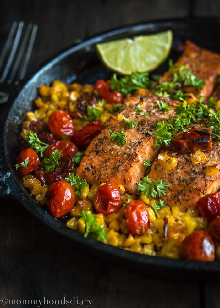 Salmon For Easter Dinner  Easter dinner recipes 16 Healthy easter recipes