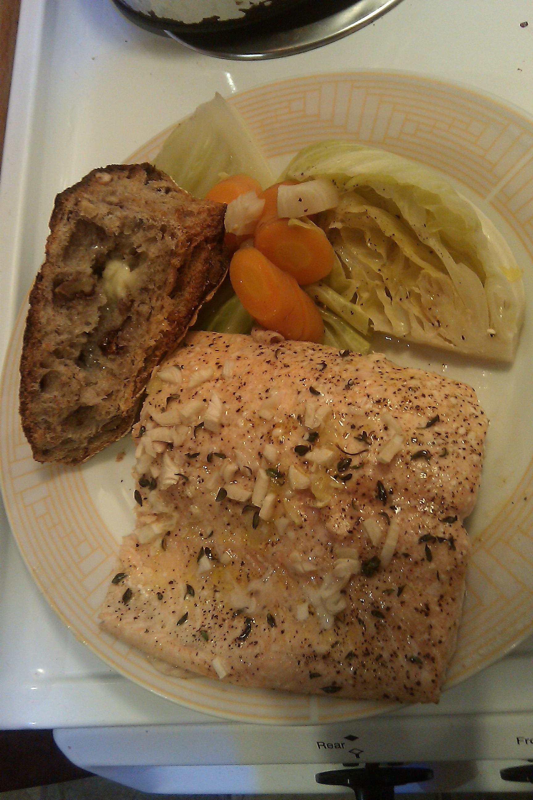 Salmon For Easter Dinner  Salmon Dinner In Bellevue easter dinner blessing