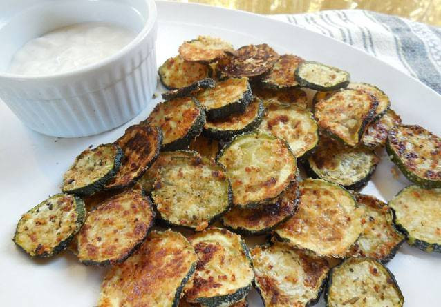Salty Healthy Snacks  Crispy Zucchini Rounds Healthy homemade salty snacks