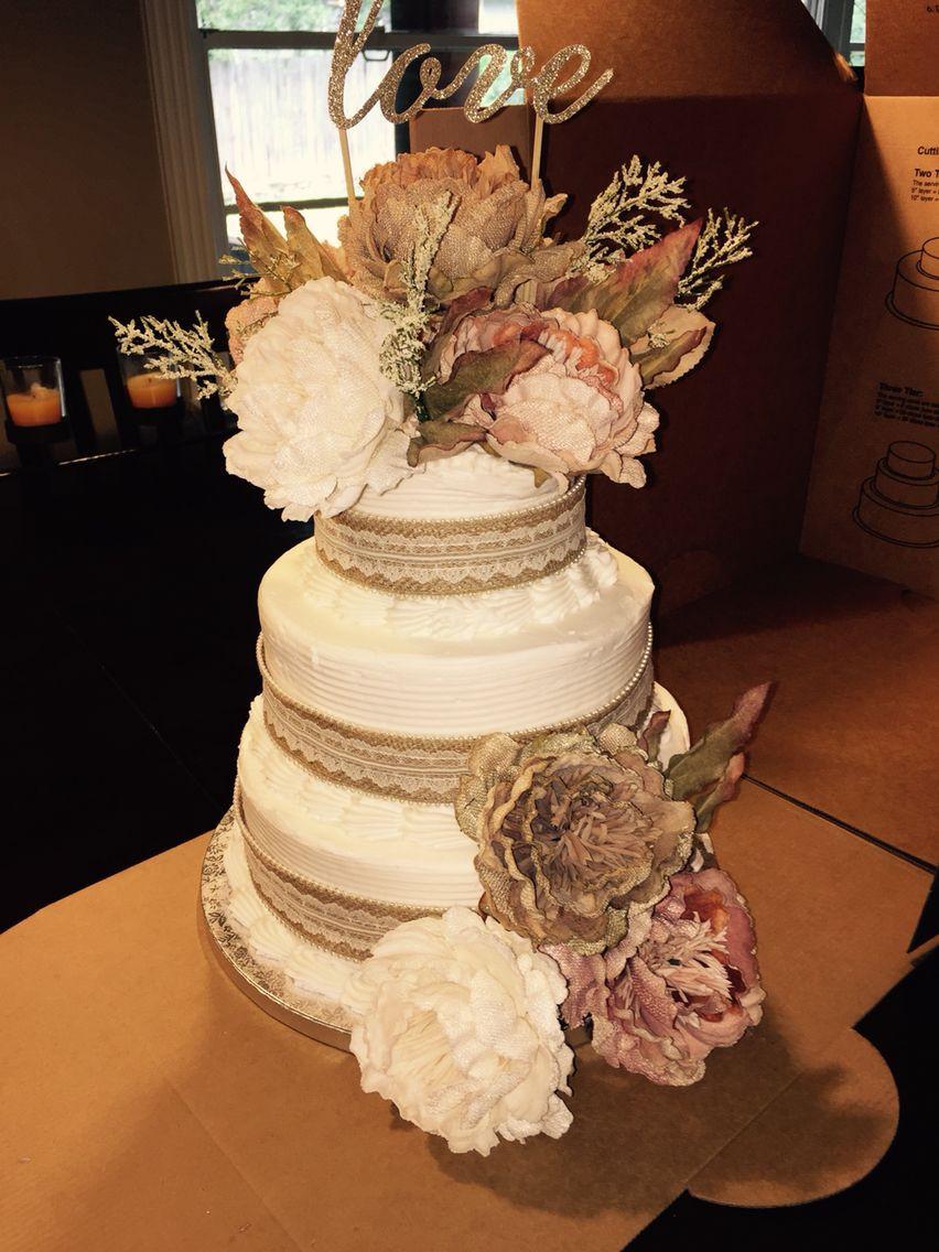 Sam Club Bakery Wedding Cakes  Beautiful cake So cheep and easy Sam s Club cake and