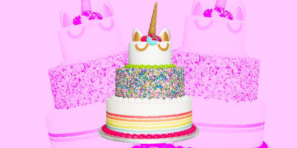 Sam'S Club Wedding Cakes  Here s a Massive Three Tier Unicorn Cake That Feeds 66