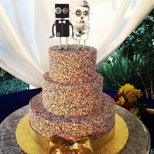 San Diego Wedding Cakes  Cute Cakes Heavenly Cupcake Wedding Cake California