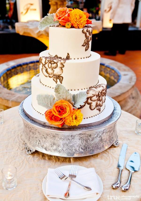 San Diego Wedding Cakes  San Diego Wedding Cake by Sweet Cheeks Baking Co