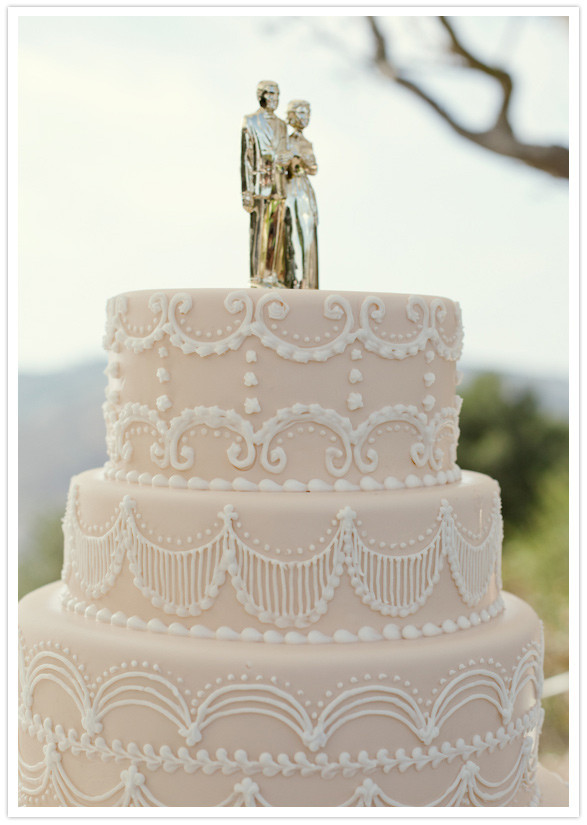 Santa Barbara Wedding Cakes  Vintage Santa Barbara wedding Julia Todd