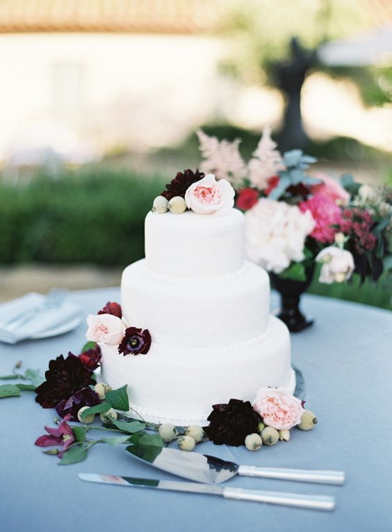Santa Barbara Wedding Cakes  Rustic Glam Santa Barbara Wedding
