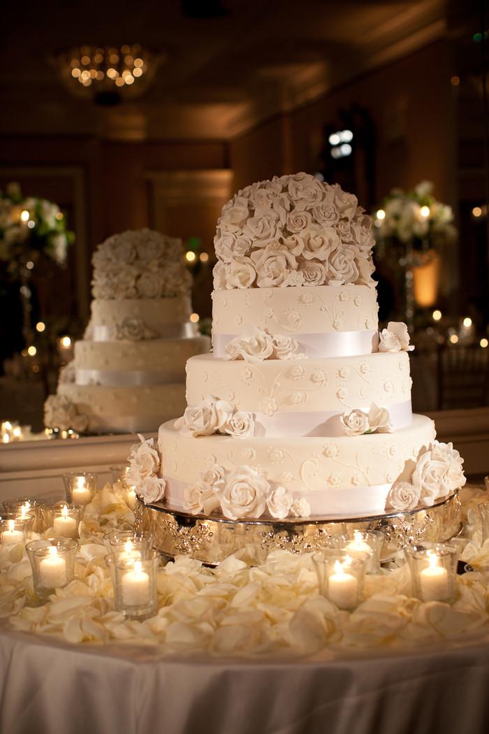Santa Barbara Wedding Cakes  Soigne Productions Santa Barbara Wedding Planner Elegant