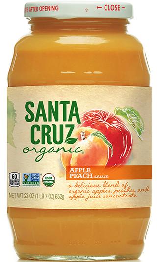 Santa Cruz Organic Applesauce  Apple Sauce