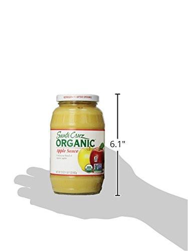 Santa Cruz Organic Applesauce  Santa Cruz Organic Applesauce 23 oz Food Beverages