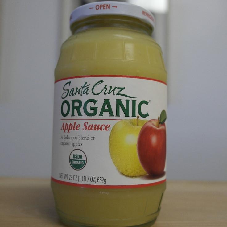 Santa Cruz Organic Applesauce  Pin by Un mon Fare on Un mon Fare