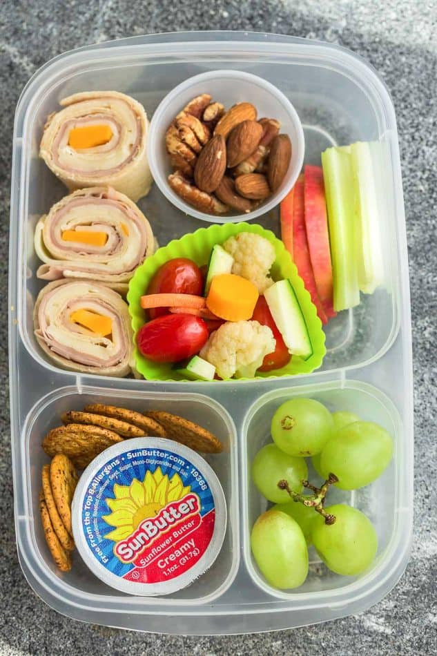 School Lunches Healthy  8 Healthy & Easy School Lunches