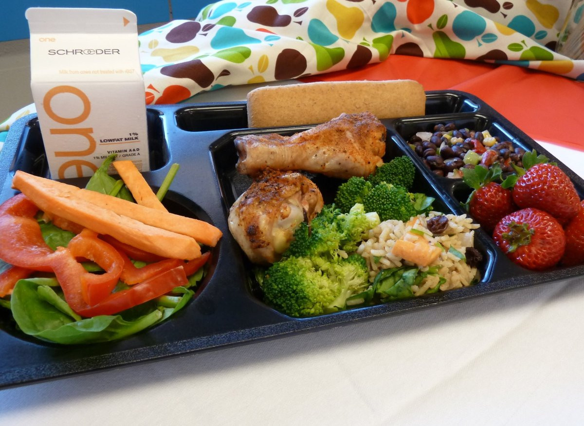School Lunches Healthy  Want Kids To Eat Healthy Make Their Meals More Like