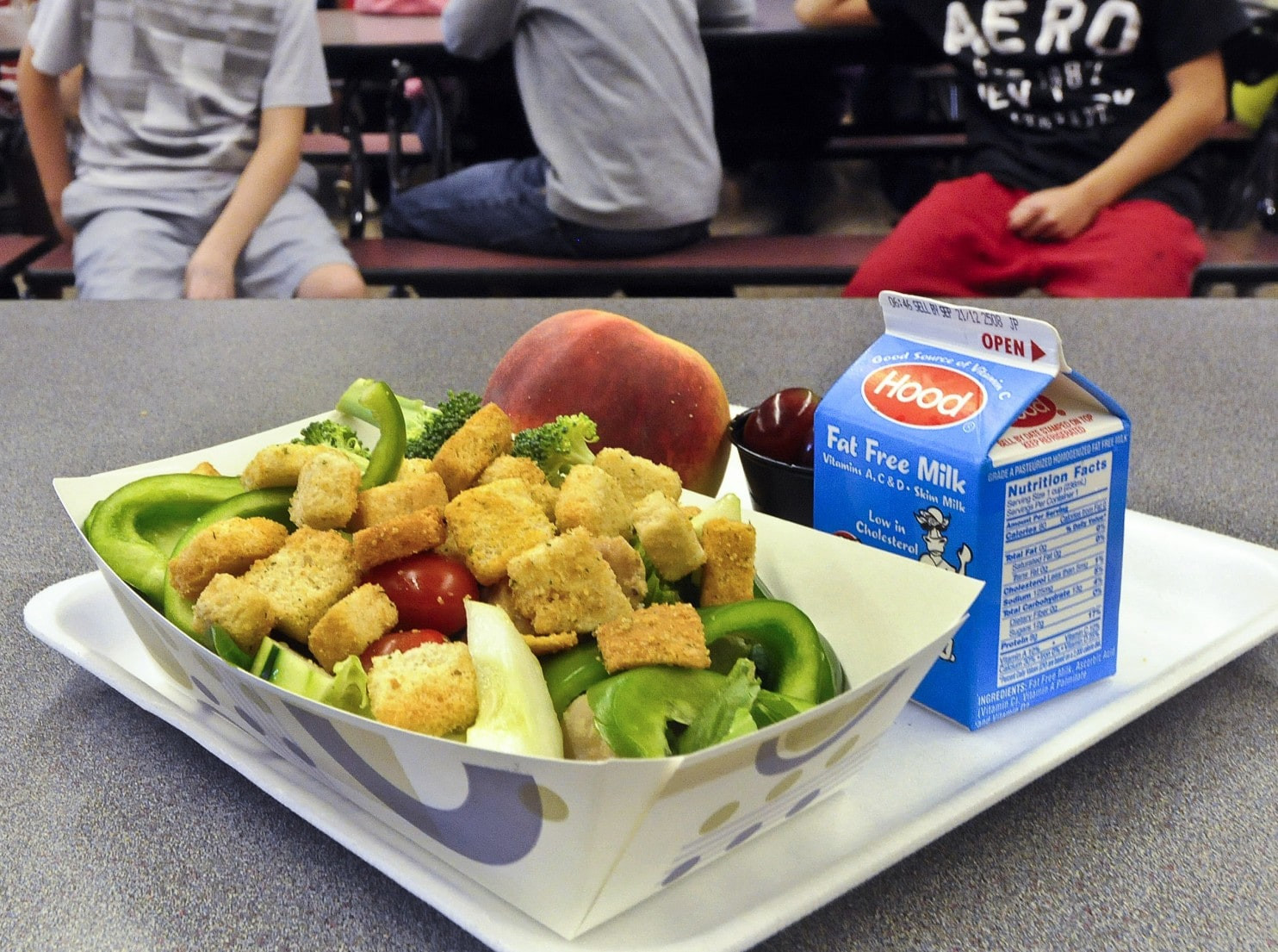 School Lunches Healthy  Why the healthy school lunch program is in trouble Before