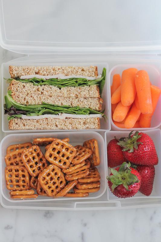 School Lunches Healthy  25 Healthy Back To School Lunch Ideas • Hip Foo Mom