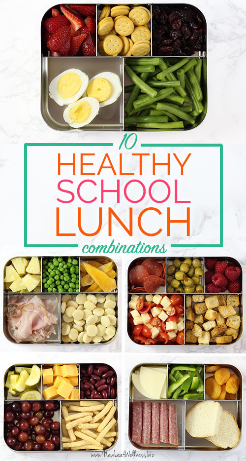 School Lunches Healthy  10 Healthy School Lunch binations That Kids Love – New
