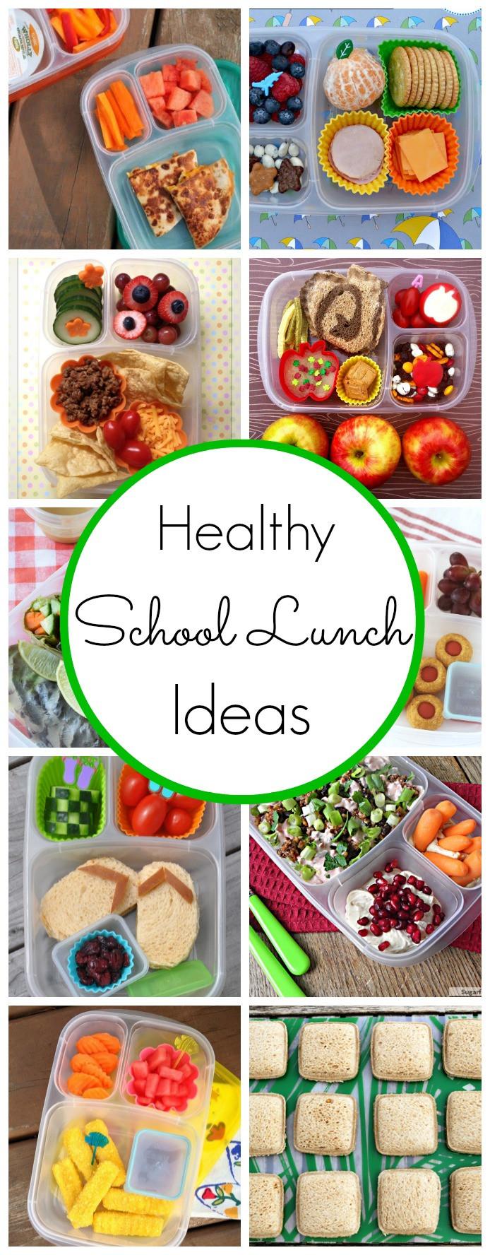School Lunches Healthy  Healthy School Lunch Ideas