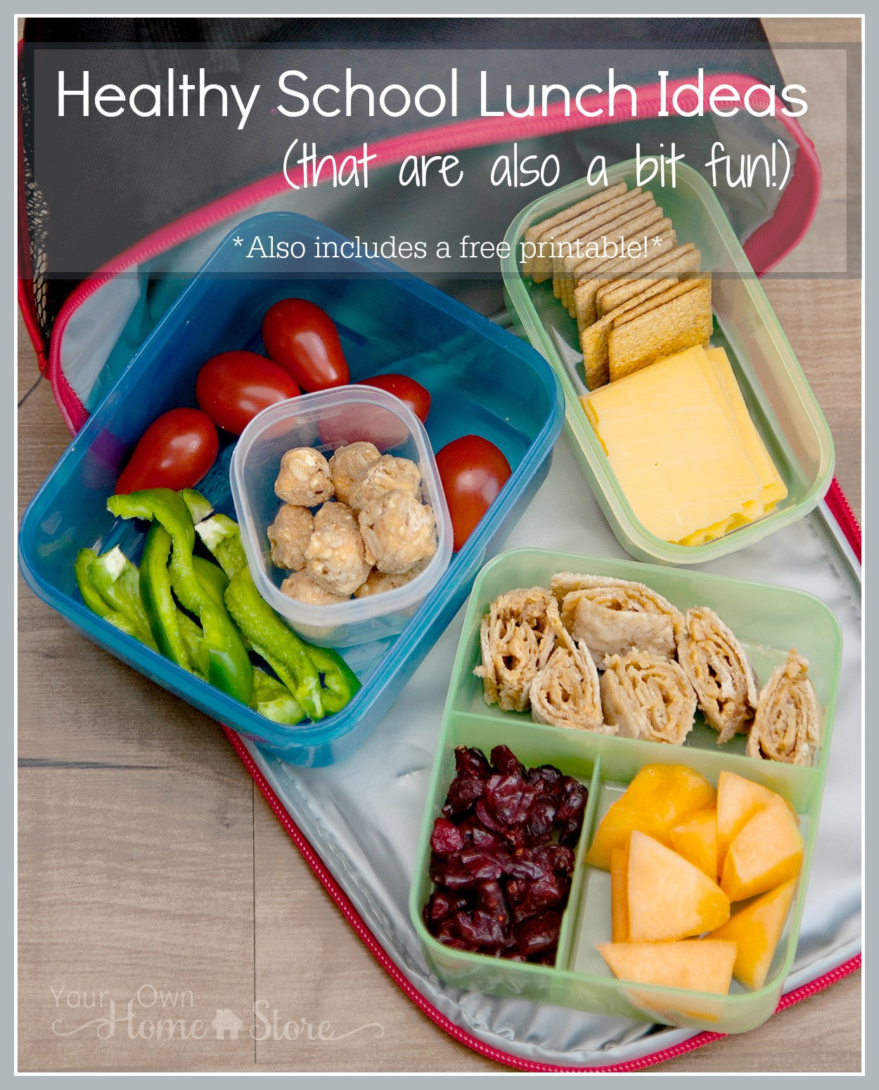 School Lunches Healthy  Healthy school lunch ideas that are also a bit fun