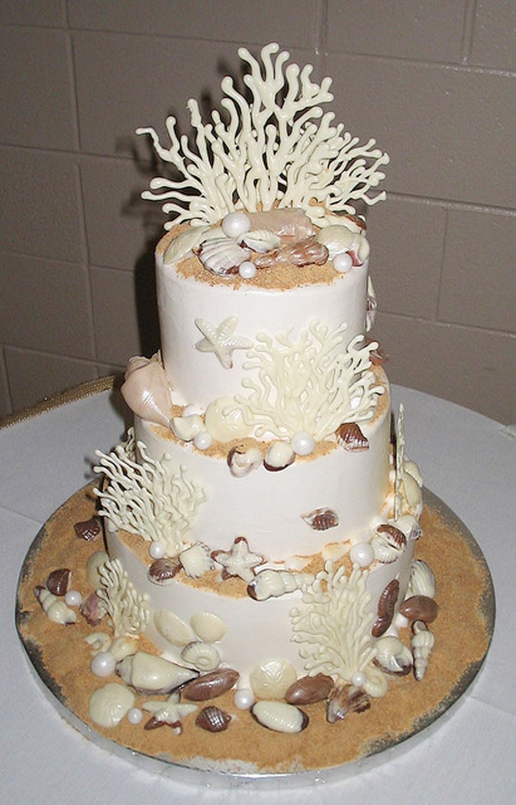 Seashell Wedding Cakes  Seashell Wedding Cakes Ideas Wedding Cake Cake Ideas by